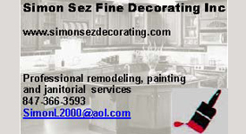 Simon Sez Decorating Professional Remodeling